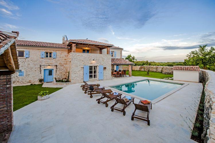 Villa Kroatië, Istrie, Krmed Villa HR-52352-26