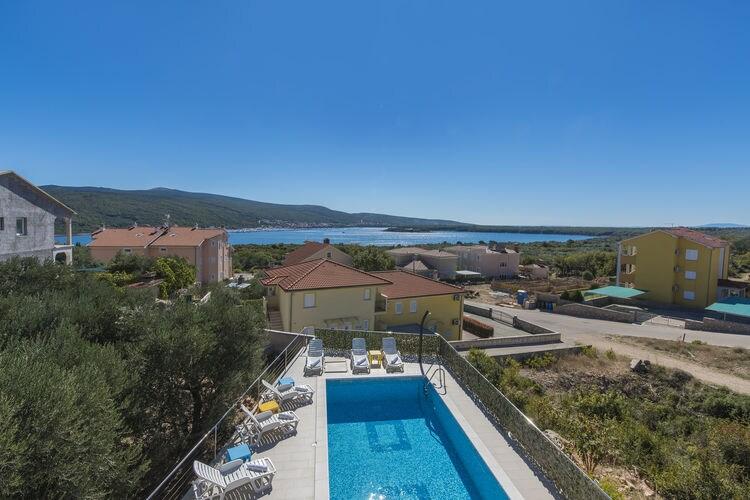 Kroatie | Eld | Villa te huur in Kornic met zwembad  met wifi 8 personen