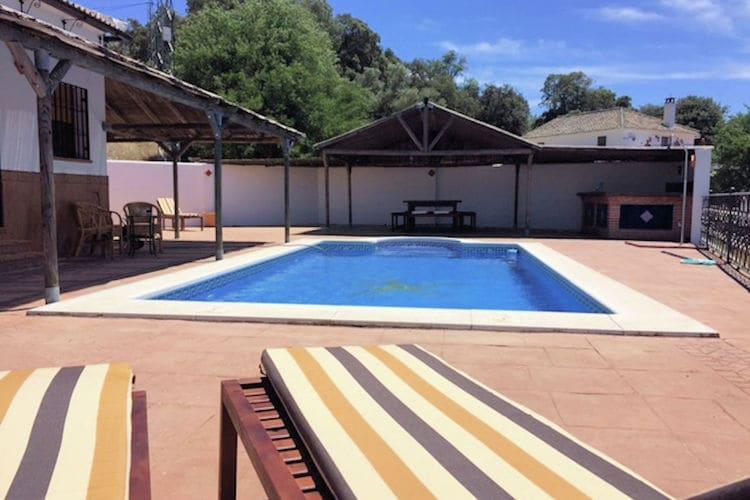 Villa met zwembad met wifi aan zee AndaluciaCasa Rubia