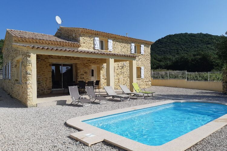 Ferienhaus Luxuriöse Villa in Saint-Laurent-de-Carnols (1939232), Bagnols sur Cèze, Gard Binnenland, Languedoc-Roussillon, Frankreich, Bild 41