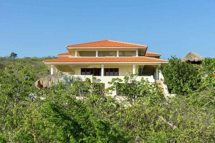 Vakantiehuis met zwembad met wifi aan zee Rif st. Marie  Villa Dream View 8 personen