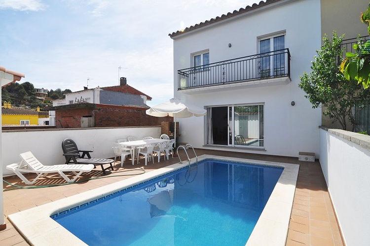 Costa Brava Vakantiewoningen te huur Huis met prive zwembad voor 8 personen in L'Escala