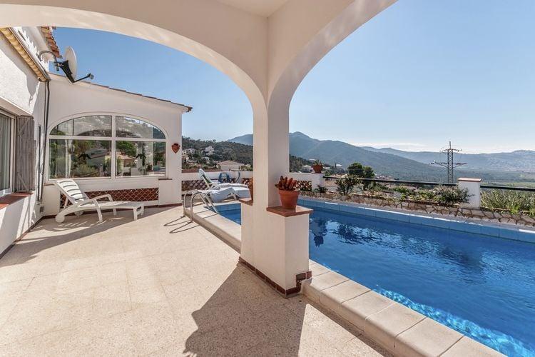 Vakantiehuis met zwembad met wifi  RosesMas Fumats