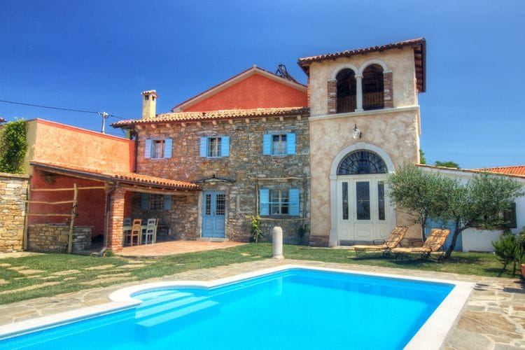 West Kust Vakantiewoningen te huur Villa Dobrinja Barin