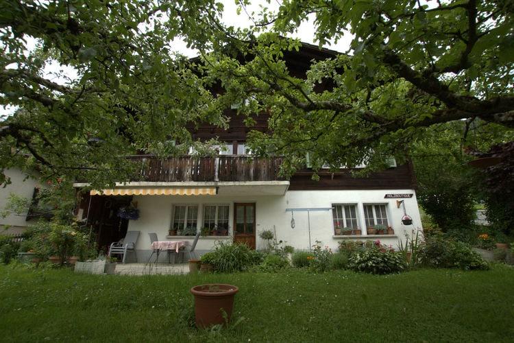 Vakantiehuizen Zwitserland | Bern | Appartement te huur in Brienzwiler   met wifi 2 personen