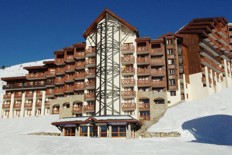 Belle Plagne Vakantiewoningen te huur Comfortabel appartement voor 5 personen direct aan de piste van Belle Plagne