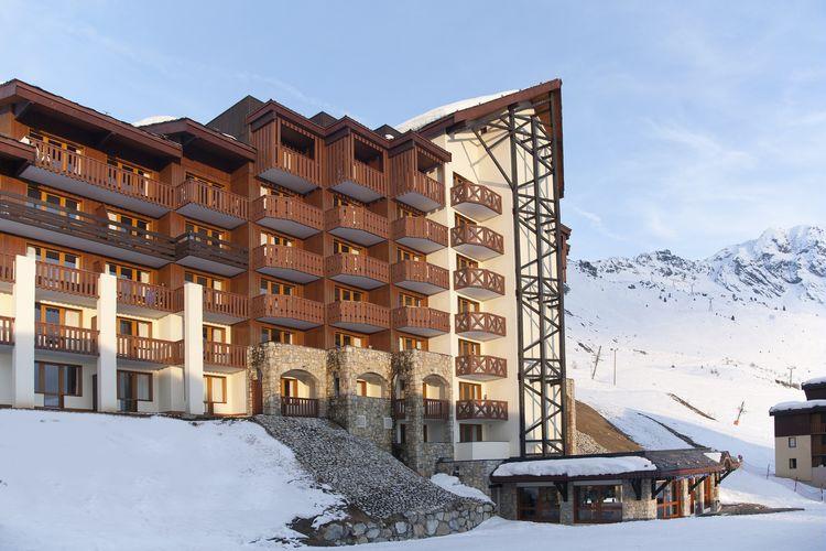 Belle Plagne Vakantiewoningen te huur Comfortabel appartement voor 7 personen direct aan de piste van Belle Plagne