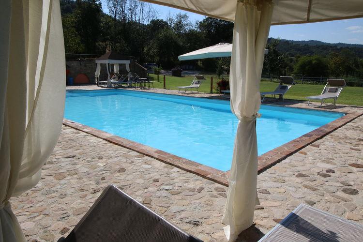 Woning Italie | Umbrie | Vakantiehuis te huur in Todi met zwembad  met wifi 4 personen