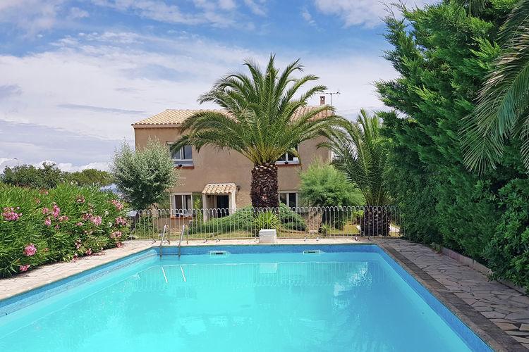 Villas Frankrijk | Languedoc-roussillon | Villa te huur in Marseillan met zwembad  met wifi 10 personen