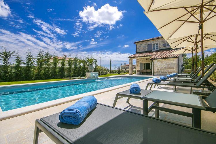 Villa Kroatië, Istrie, Ladići  (kanfanar) Villa HR-52352-29