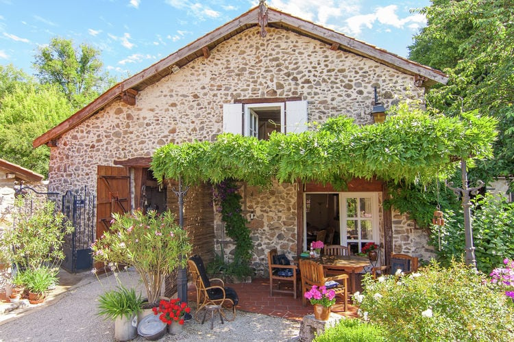Frankrijk | Dordogne | Vakantiehuis te huur in Roussines met zwembad  met wifi 5 personen