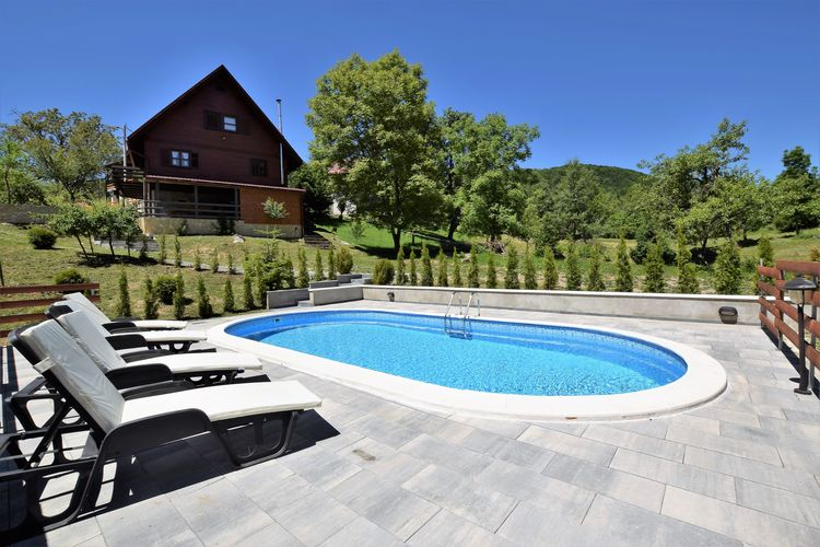 Vakantiehuizen Kvarner te huur Brod-Moravice- HR-00001-24 met zwembad  met wifi te huur
