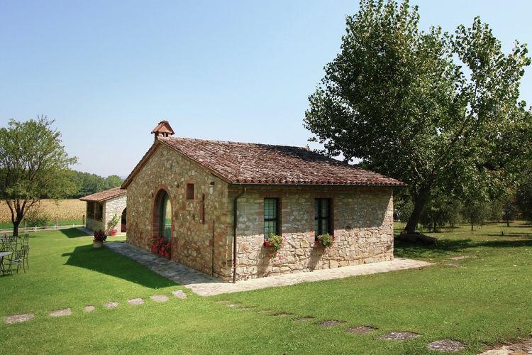 Todi Vakantiewoningen te huur Prachtig 4-persoons vrijstaand huis midden op het landgoed