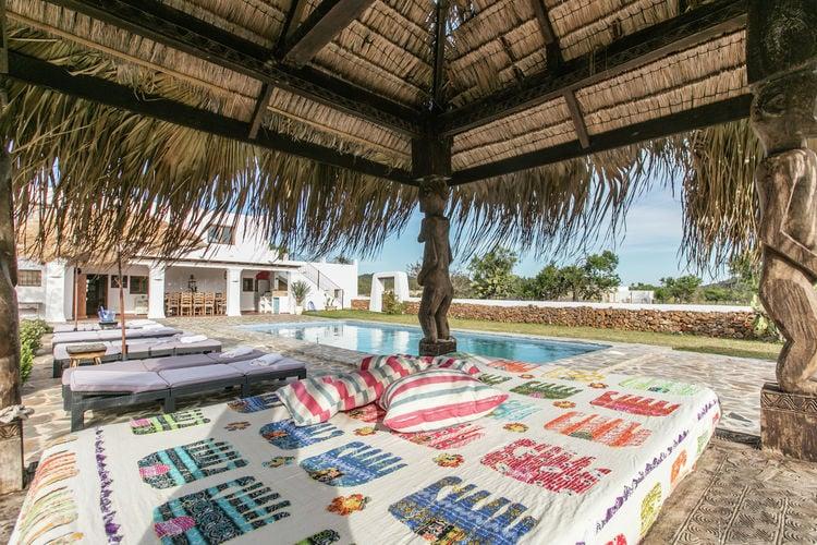 Vakantiehuizen Ibiza te huur Sant-Carles-de-Peralta- ES-07800-19 met zwembad  met wifi te huur