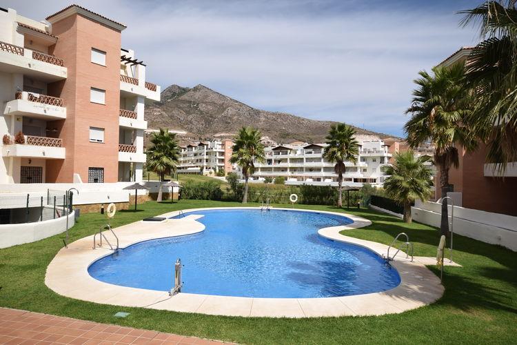 Appartement met zwembad met wifi aan zee  SpanjeEl Pensador