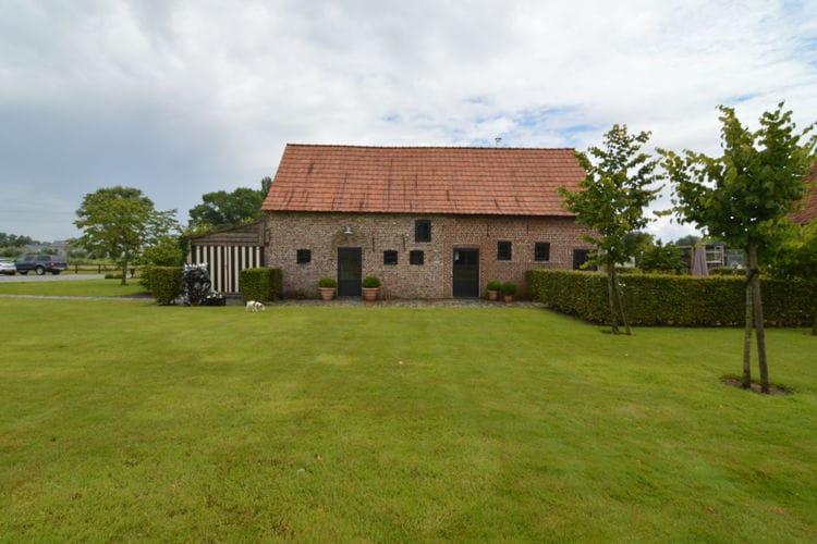 Vakantiehuizen Belgie | West-Vlaanderen | Boerderij te huur in Pittem   met wifi 8 personen