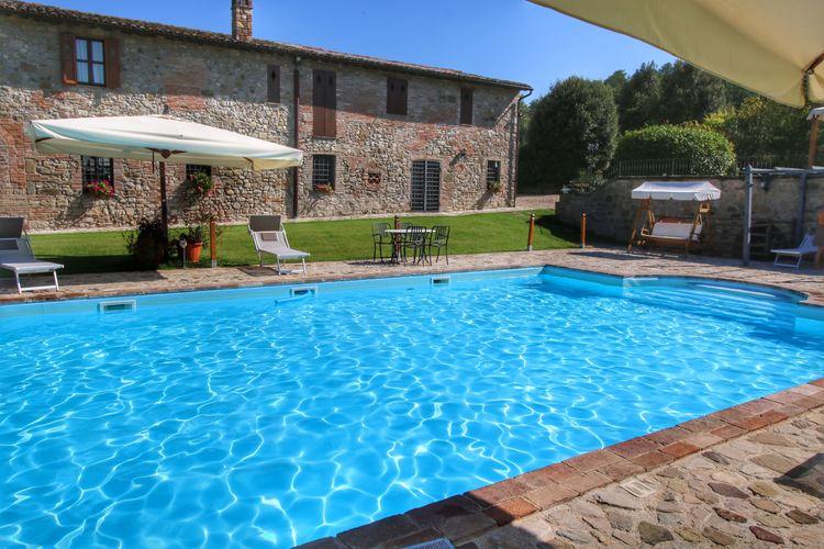 Italie | Umbrie | Vakantiehuis te huur in Todi met zwembad  met wifi 4 personen