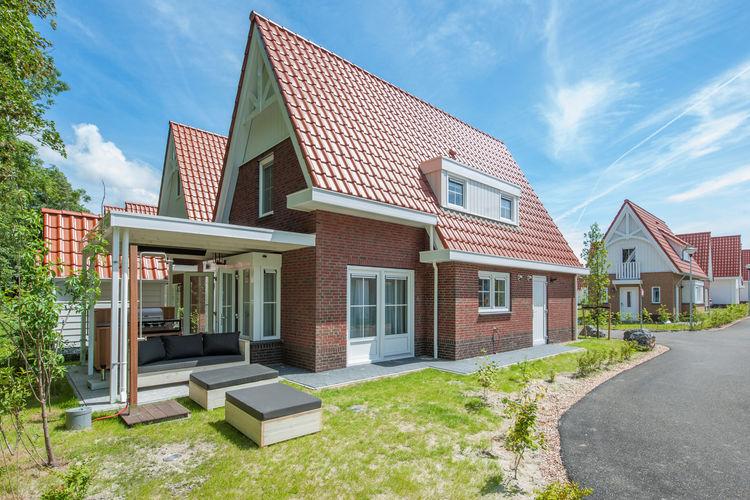 Koudekerke Vakantiewoningen te huur Luxe villa met drie slaapkamers met elk een eigen badkamer, 1 km. van het strand