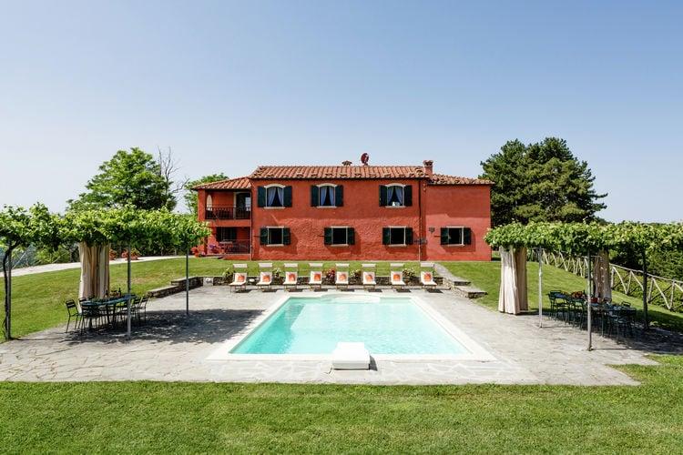 Italie | Emilia-romagna | Villa te huur in Tredozio met zwembad  met wifi 8 personen