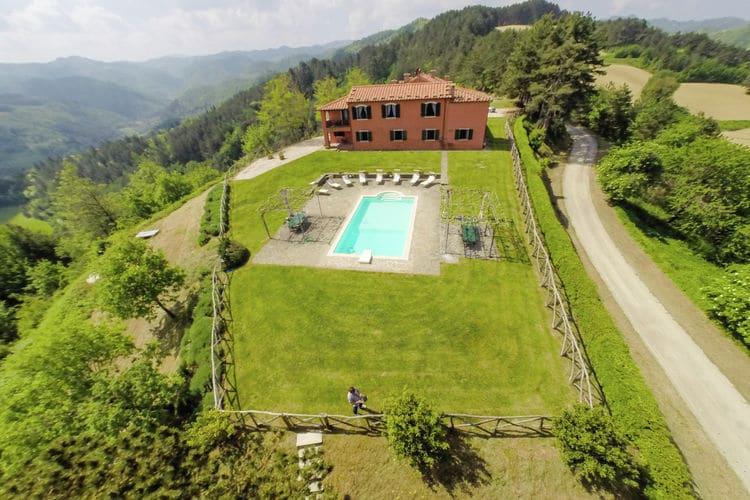 Italie | Emilia-romagna | Villa te huur in Tredozio met zwembad  met wifi 16 personen