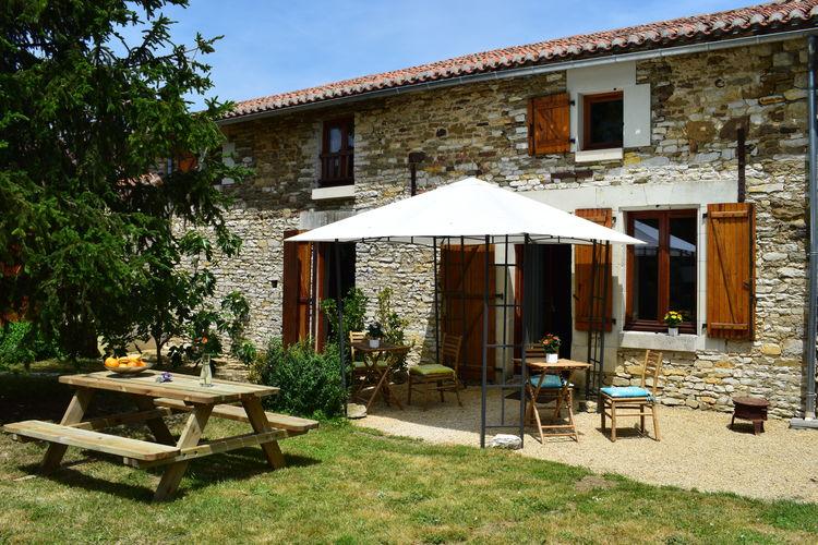Frankrijk | Pays-de-la-loire | Vakantiehuis te huur in Frontenay-sur-Dive   met wifi 4 personen