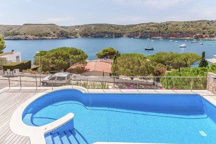 Costa Brava Vakantiewoningen te huur Geweldige villa met een prachtig zeezicht voor 6 personen met privé zwembad