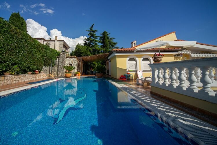 Villa Kroatië, Kvarner, Kostrena Villa HR-51221-01
