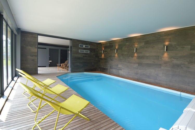 Vakantiehuis met zwembad met wifi  WaimesLe Lodge des Bruyères