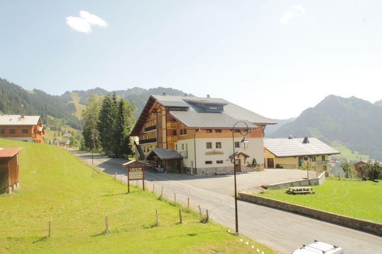 Chatel Vakantiewoningen te huur Le Yeti, 2-kamerappartement gelegen aan de piste met prachtig uitzicht en met balkon(zuid)