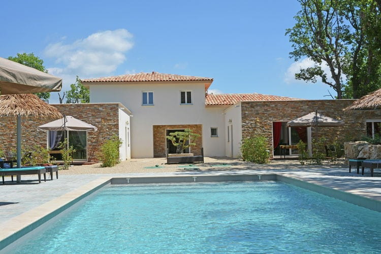 Villa met zwembad met wifi  MontaurouxVilla Contempo 6