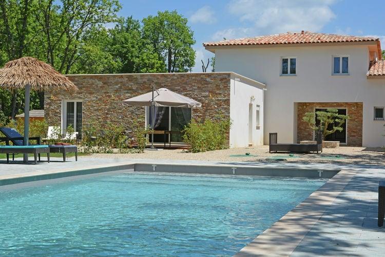 Villa met zwembad met wifi  MontaurouxVilla Contempo 5