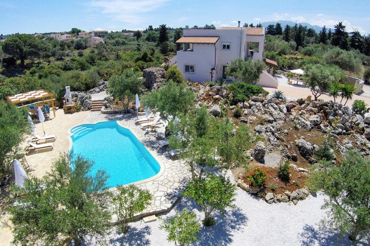 Griekenland | Kreta | Villa te huur in Vamos met zwembad  met wifi 8 personen