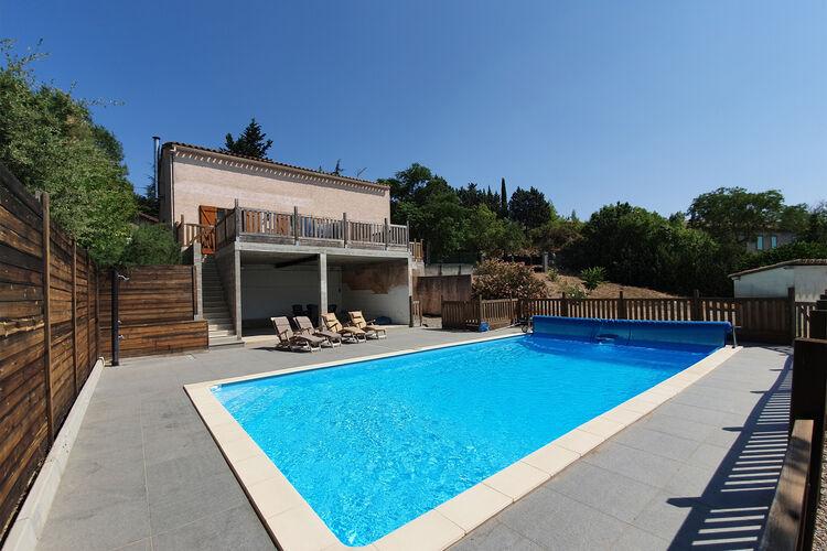 Villa met zwembad met wifi  Felines-MinervoisVilla Félines