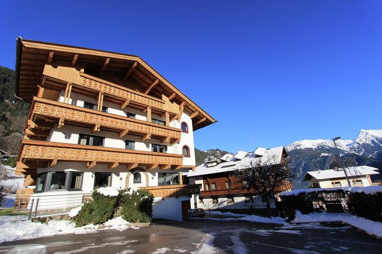 Vakantiehuizen Oostenrijk | Tirol | Appartement te huur in Mayrhofen-Finkenberg   met wifi 11 personen