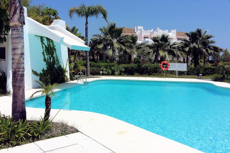 Appartementen Spanje | Costa-del-Sol | Appartement te huur in Estepona met zwembad  met wifi 4 personen