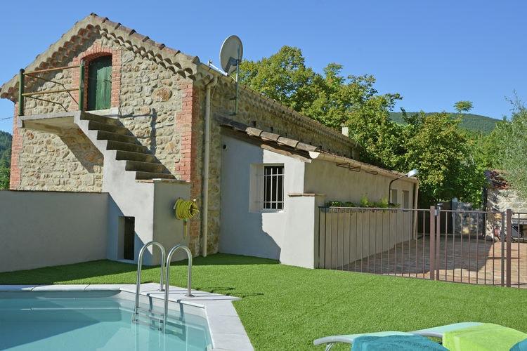 Villa huren in Molieres-sur-Ceze - met zwembad  met wifi met zwembad voor 6 personen  In dit prachtige huis waant u zich..
