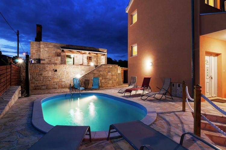 vakantiehuis Kroatië, Dalmatie, Maslenica Jasenice vakantiehuis HR-23243-02
