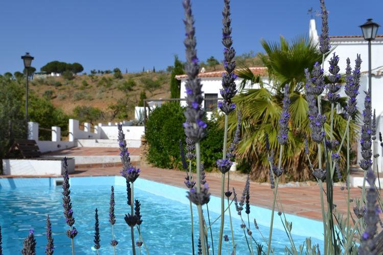Andalucia Vakantiewoningen te huur Andalusische villa met spectaculiar uitzicht, privézwembad en jacuzzi