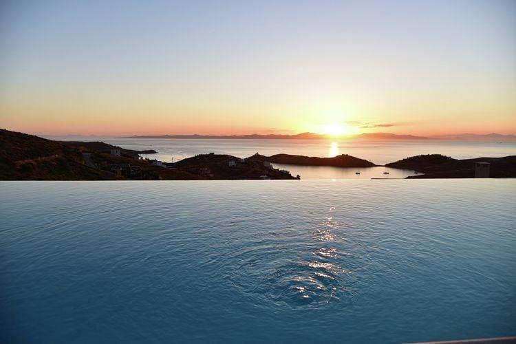 Griekenland | Attiki | Villa te huur in Kea-Eiland met zwembad  met wifi 9 personen