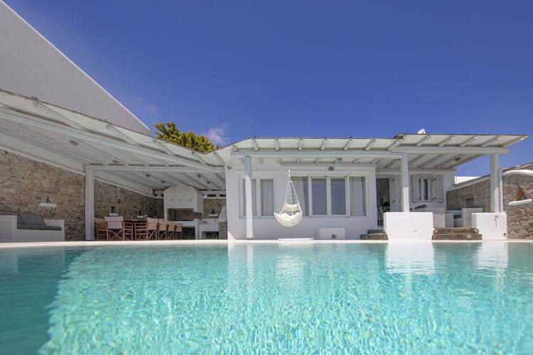 Vakantiehuizen Griekenland | Grmyk | Villa te huur in Kalafatis met zwembad  met wifi 10 personen