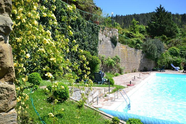 Vakantiehuis met zwembad met wifi  Gaiole in Chianti  AquilaSette