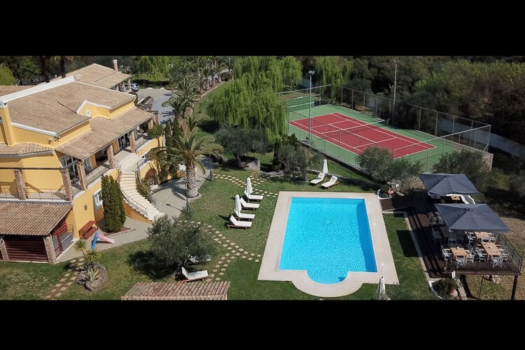 Griekenland | Corfu | Villa te huur in Danillia-Gouvia met zwembad  met wifi 12 personen