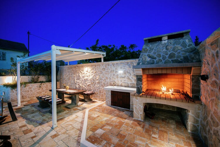 Villa Kroatië, Dalmatie, Vinjerac Villa HR-23247-01