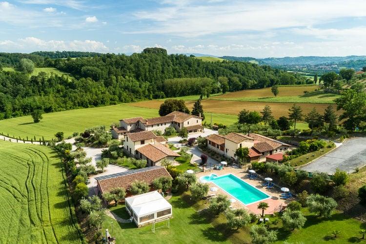 Vakantiewoning huren in Perugia - met zwembad  met wifi met zwembad voor 4 personen  Deze rustieke agruturismo met 5 ap..