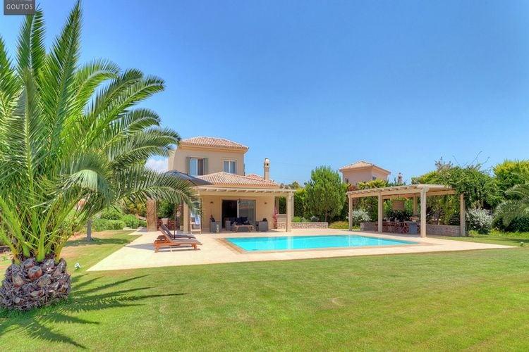 Villa met zwembad met wifi  Ververonda - Argolis  Villa Tramonto