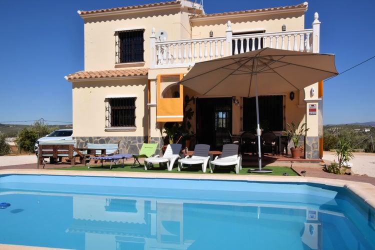 Vakantiehuizen Villanueva-de-Trabuco te huur Villanueva-de-Trabuco- ES-00005-70 met zwembad  met wifi te huur
