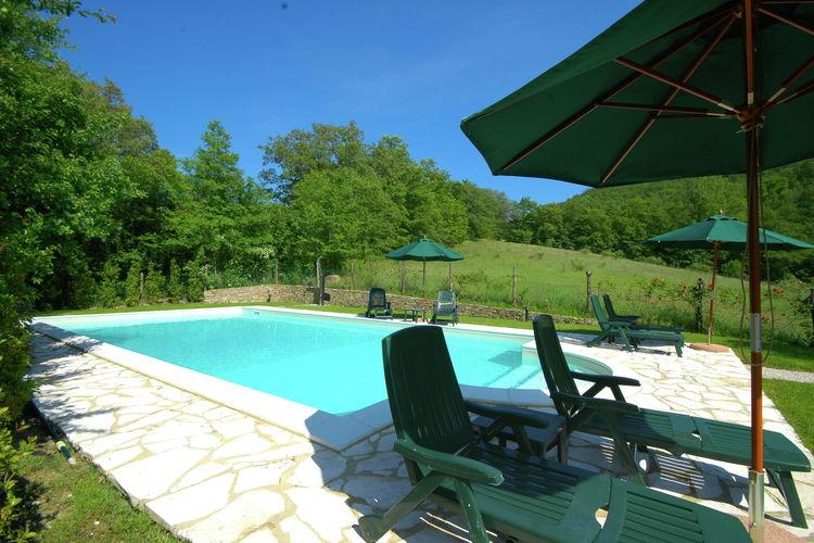 Vakantiehuizen Italie | Umbrie | Vakantiehuis te huur in Lisciano-Niccone met zwembad  met wifi 4 personen