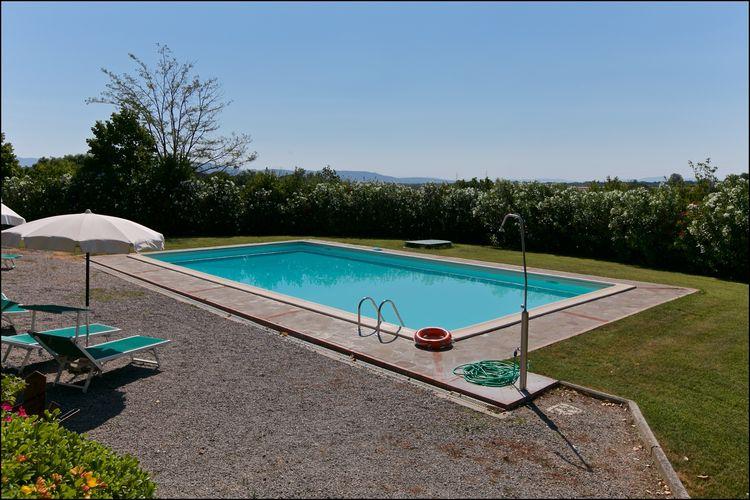 Boerderijen Italie | Toscana | Boerderij te huur in Cortona met zwembad  met wifi 3 personen