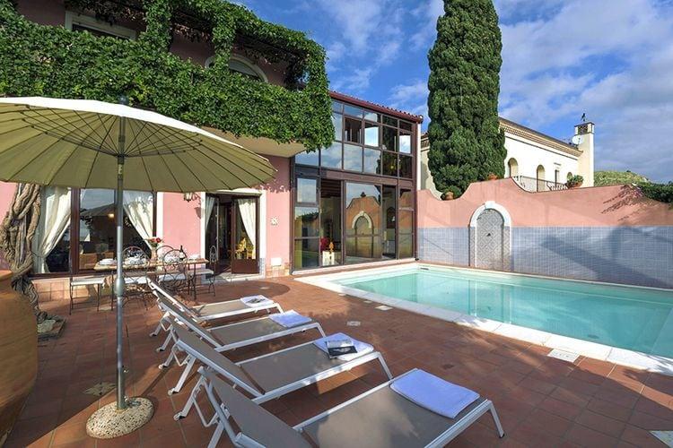 Vakantiewoning Italië, Sicilia, Taormina Villa IT-98039-16