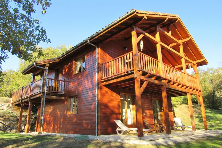 Chalet met zwembad met wifi  Lachapelle-Auzac / Souillac  Souillac Golf & Country Club 6p Deluxe 1